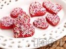 Рецепта Сладки медени сърчица